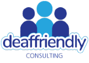 Deaf Friendly Consulting Logo